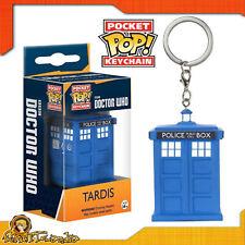 Portachiavi Doctor Who Pocket Pop Vinyl Keychain Tardis 4 cm Funko