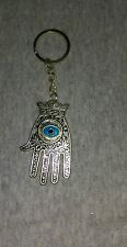 Moroccan Khamsa Hand FOB  Key Chain pendant Lucky Hamsa Hand