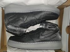 Air Force 1 Mid '07 LV8 Black/Black-White 804609-005 Men's Size 15