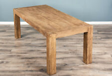 2m Reclaimed Elm Chunky Dining Table