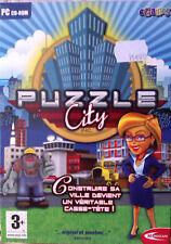 """JEU PC """"Puzzle City"""" (Gestion réflexion et rapidité) NEUF SOUS BLISTER"""