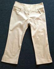Cotton Capri, Cropped 32L Trousers for Women