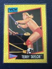 TERRY TAYLOR  1991 Impel WCW #74  MINT  Pack Fresh!