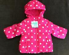 Carters Child of Mine Girl Pink Fuschia Puffer Winter...