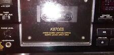 Sony K870ES 3 Head High End Deck