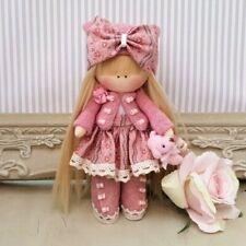 Rag doll handmade in the UK Tilda doll Ooak doll Cloth doll ERICA 6 inch tall