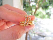 .15 Carat Diamond Yellow Gold Ring 18k codeRx20 sep