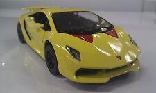Lamborghini Sesto elemento amarillo kinsmart Coche Juguete modelo 1/38 escala