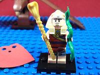 LEGO-MINIFIGURES SERIES THE BATMAN MOVIE KING TUT MINIFIGURE & LEAFLET