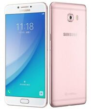 """New Imported Samsung Galaxy C7 Pro Duos Dual 64GB 4GB 5.7"""" 16MP 16MP PinkGold"""