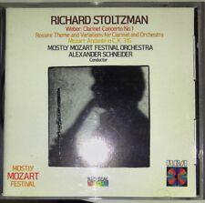 Richard Stoltzman - Weber Clarinet Concerto - Mozart Andante in C - E+ CD