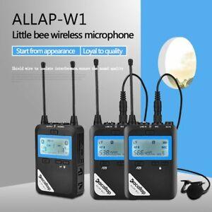 ALLAP-W1-2 PK BOYA UHF Dual-Channel Wireless Microphone With Receiver 3.5MM