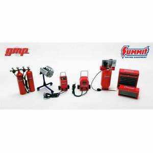 GMP 1:18 Summit Racing Shop Tool Set  - Accessories for Garage Diorama