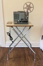 VINTAGE FILM PROJECTOR TABLE & POWER PANEL LOGAN SHOW KING MID CENTURY End Table