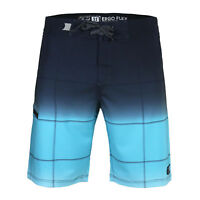 Men's Check Beach Vacation Swim Trunks Swimwear Board Shorts Blue Gift Christmas