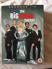 The big bang theory boxset all Four Dvds Season 1-4