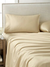 HOTEL COLLECTION EGYPTIAN COTTON 4 PC CAMEL GOLD SHEET SET KING $550