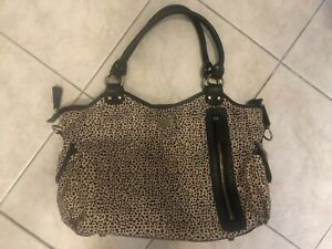 Baby Bag Isoki Leopard Print Lightly Used
