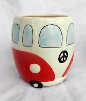 Volkswagen - V W Camper Van Ceramic Mug - Red - BNIB