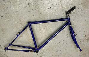 Bianchi mountain bike frame/fork/headset/stem size medium