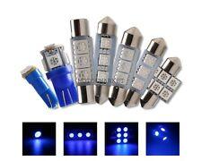 6x Blue Lamp Interior LED Light Bulb Package Kit For 1998-2002 Toyota Corolla