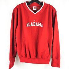 Nike Boys' Pullover Jacket Alabama Crimson Tide Side Zip Team Red M (8-10)