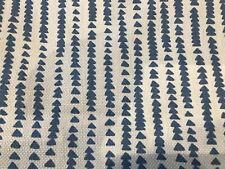 John Lewis Fabric Xander Blue 2.4 Metres £20