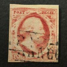 Nederland 1852 Willem lll NVPH 2 plaat X pos 15