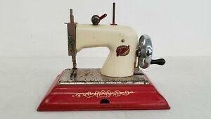 Vintage EMG COMET Children's Hank-Crank Toy Sewing Machine, Made in England