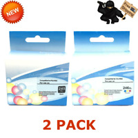 2PK Ink Cartridge CANON PG 245XL CL 246XL Black Color PIXMA IP2820 MG2420 MG2520