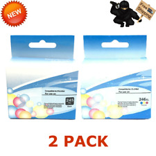 2PK PG-245XL CL-246XL Combo Color Ink for Canon PIXMA iP2820 MG2420 MG2520 MX490