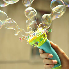 Hand Held Bubble Blower Gun Baby Kids Outdoor Toy Game Water Fun Play New