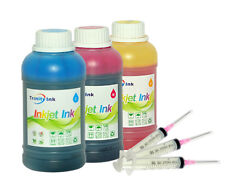 3x250ml Refill ink for HP 21/22 56/57 74/75 60 61 901 564 920  3Syringes