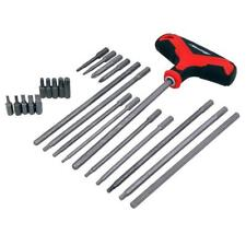 Neilsen Screwdriver Bit Set T Handle Hex Long Torx Star Slotted / 4248