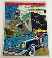 BATMAN FRAME TRAY PUZZLE WHITMAN No. 4518 1966