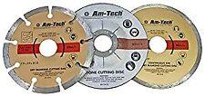 Am-Tech Diamond and Cut Off Blade Set (3 Pieces)