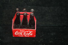 Vintage Minature Coca Cola Six Pack Coke Carrier It's The Real Thing circa 1971