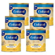 6 cans 12.5 oz Enfamil Infant Baby Formula