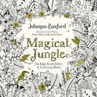 Magical Jungle: An Inky Expedition and Coloring Bo