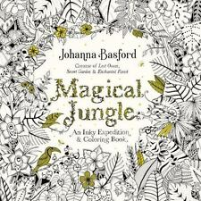 Magical Jungle: An Inky Expedition and Coloring Book for Adults by Basford, Joh