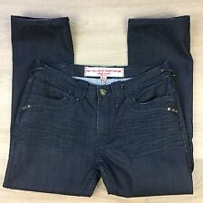 Lab of Denim Straight Coated Men's Jeans Size 38 Actual W36 L30 (Q17)