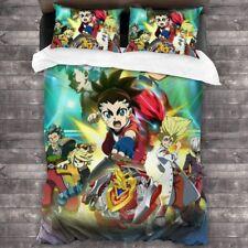 Bey-Blade Burst 3PCS Bedding Set Duvet Cover Pillowcases Comforter Cover Set