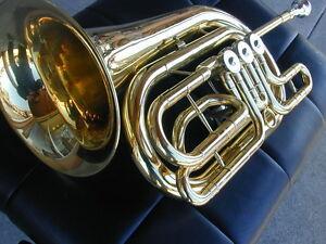 BerkeleyWind Bass C 3 Rotary Flugelhorn/French Post Horn Sardana-Cobla