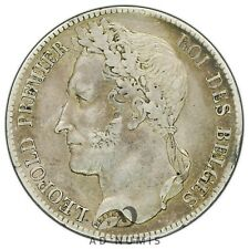 5 francs 1835 Léopold Premier Belgique TTB - Argent