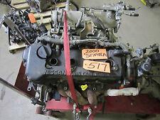 SENTRA 00 01 1.8L VIN C VIN D 4th digit QG18DE GXE XE ENGINE MOTOR CYLINDER PAN