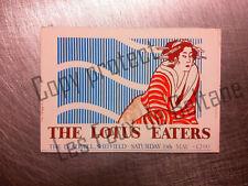 THE LOTUS EATERS LEADMILL SHEFFIELD  carte postale postcard