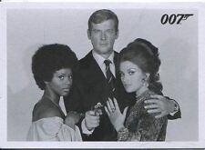 James Bond Archives 2014 Complete 120 Card Live & Let Die Throwback Set