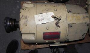 General Electric Motor 5CD256G107 4-1/2KW 250V 18Amp 1750RPM