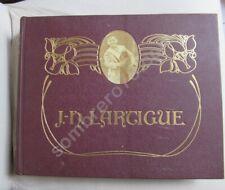 J H LARTIGUE/Les photographies de J H Lartigue / un album de famille Belle époqu