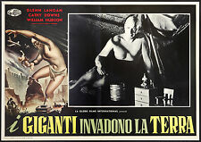 CINEMA-fotobusta I GIGANTI INVADONO LA TERRA langan,downs,hudson,GORDON